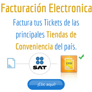 facturar tickets de tiendas de conveniencia