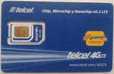 chip express de telcel 4g