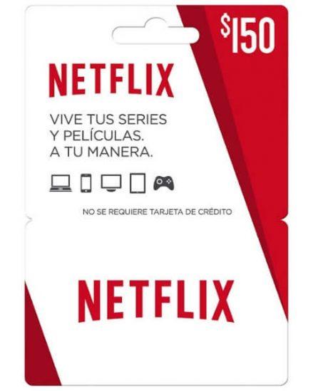 Netflix tarjeta de regalo