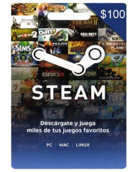 Steam tarjeta de regalo