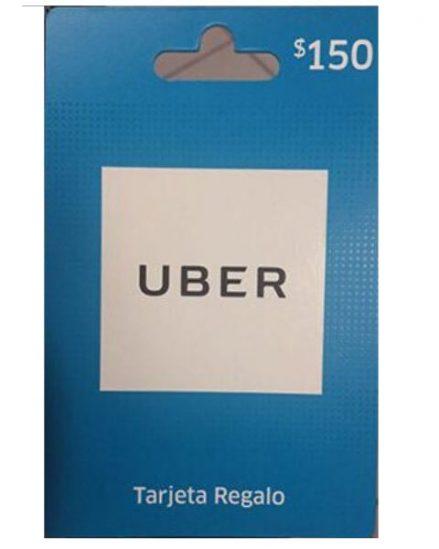 Uber Tarjeta de Regalo Tiendas 7 Eleven