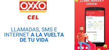 chip oxxo cel paquetes