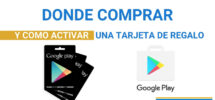 tarjetas de regalo google play Productos