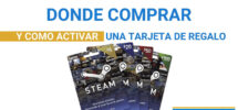 tarjeta regalo steam Productos de Conveniencia